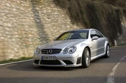 Mercedes CLK 63 AMG black series / kliknij /INTERIA.PL