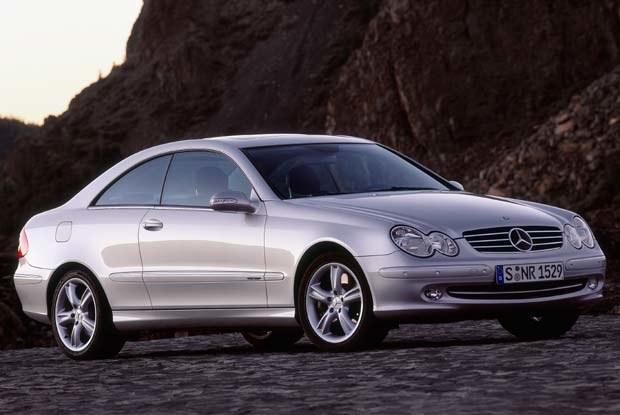 Mercedes CLK500 (kliknij) /INTERIA.PL