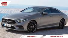 0007M7QGNPM1AAK1-C307 Mercedes CLS - MotoAs Interii w kategorii Styl