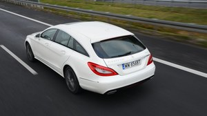 Mercedes CLS Shooting Brake 350 CDI 4Matic - test