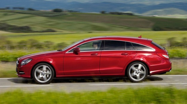 Mercedes CLS shooting brake /