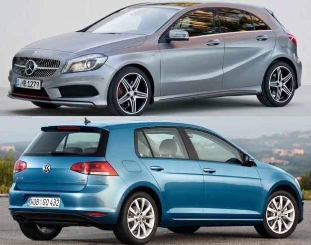 Mercedes czy Volkswagen? /