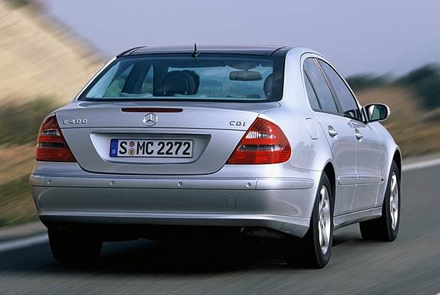 Mercedes E 400 CDI (kliknij) /INTERIA.PL