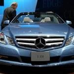 Mercedes E convertible