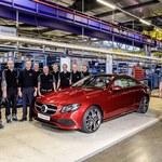Mercedes E Coupe już w produkcji