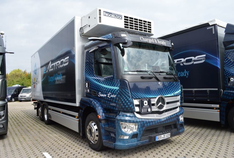 Mercedes eActros /INTERIA.PL