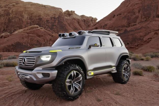 Mercedes Enter G Force /