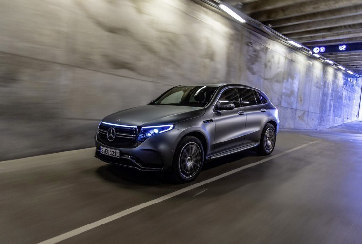 Mercedes EQC /materiały prasowe