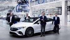 Mercedes EQS już w produkcji