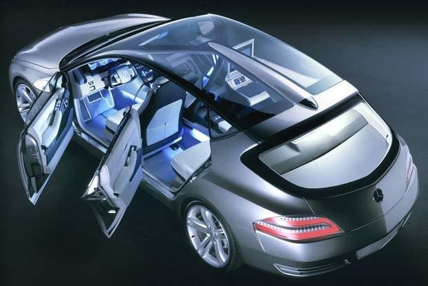 Mercedes F 500 (kliknij) /INTERIA.PL