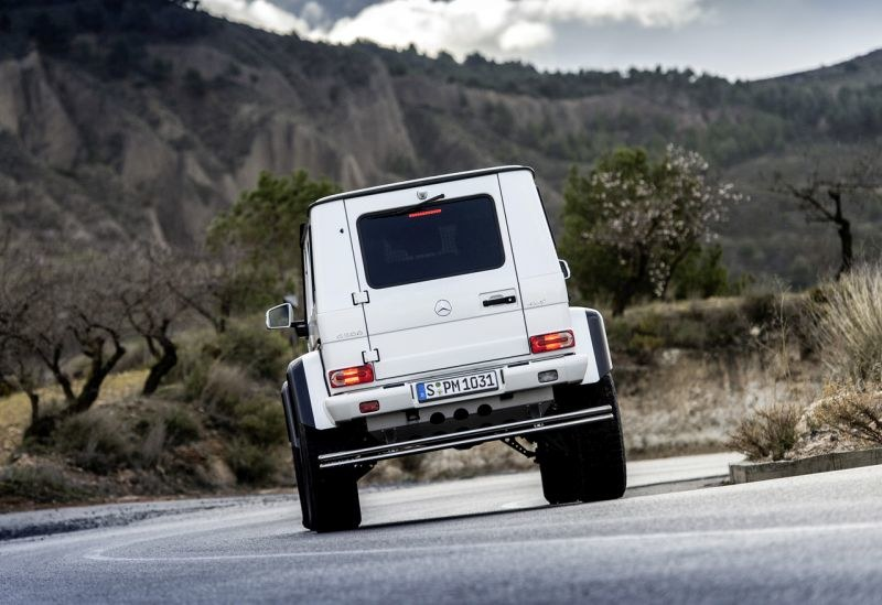 Mercedes G 500 4x4² /