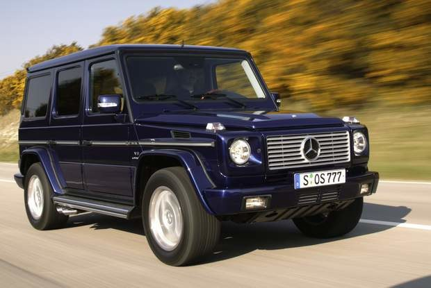 Mercedes G AMG / Kliknij /INTERIA.PL