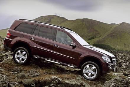 Mercedes GL / Kliknij /INTERIA.PL