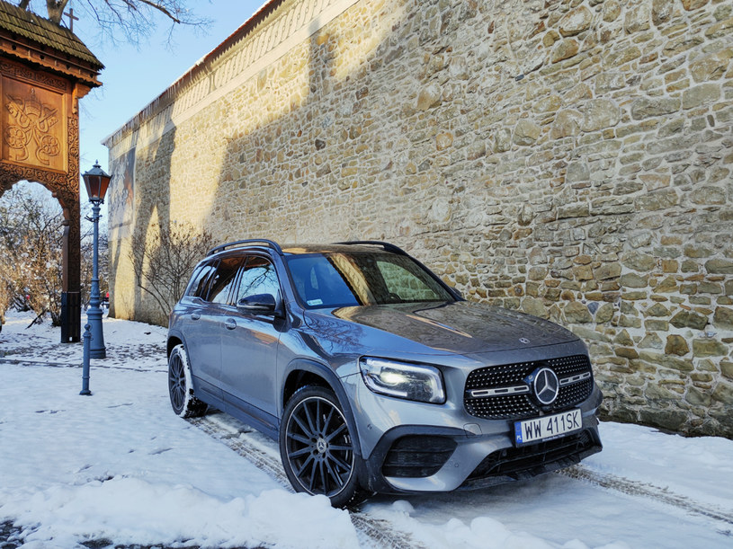 Mercedes GLB 200 /INTERIA.PL