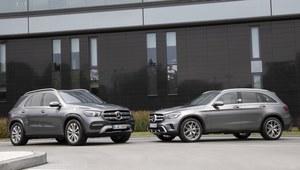 Mercedes GLE 350 de oraz GLC 300 e - hybrydowe nowości