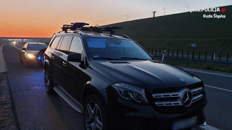 Mercedes GLS /Policja