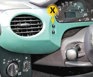 Mercedes klasy A (1997-2004) /Motor
