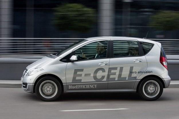 Mercedes klasy A E-Cell /