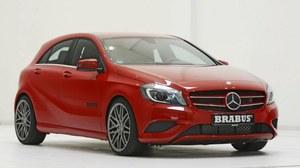 Mercedes klasy A po tuningu Brabusa
