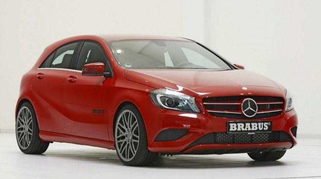 Mercedes klasy A po tuningu Brabusa. /Brabus