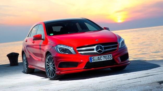Mercedes klasy A (W176) zadebiutował oficjalnie jesienią 2012 roku. /Mercedes