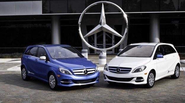 Mercedes klasy B Electric Drive /Mercedes