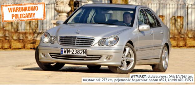 Mercedes klasy C W203 /Auto Moto