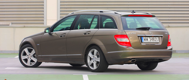 Mercedes klasy C /Motor