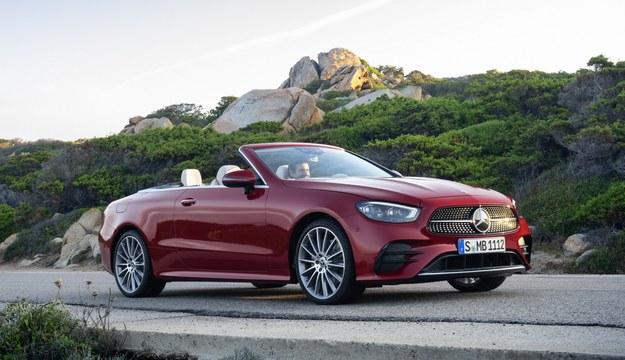 Mercedes klasy E cabrio /
