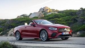 Mercedes klasy E coupe i cabrio zmodernizowane