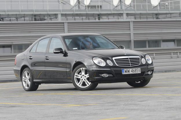 Mercedes klasy E W211 (2002-2008) /Motor