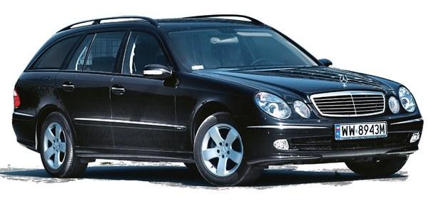 mercedes klasy e w211 /Motor