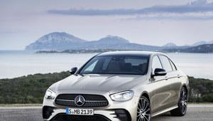 Mercedes klasy E zmodernizowany