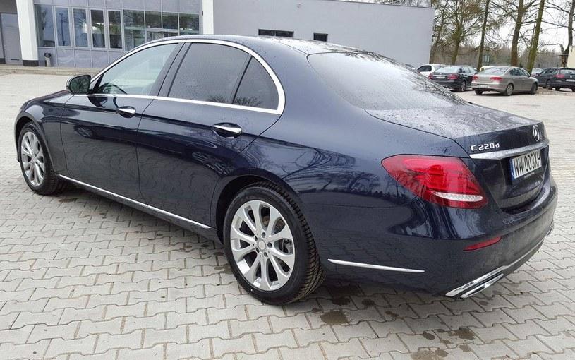 Mercedes klasy E /INTERIA.PL