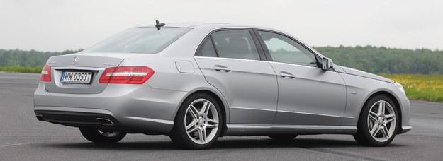 Mercedes klasy E /Motor
