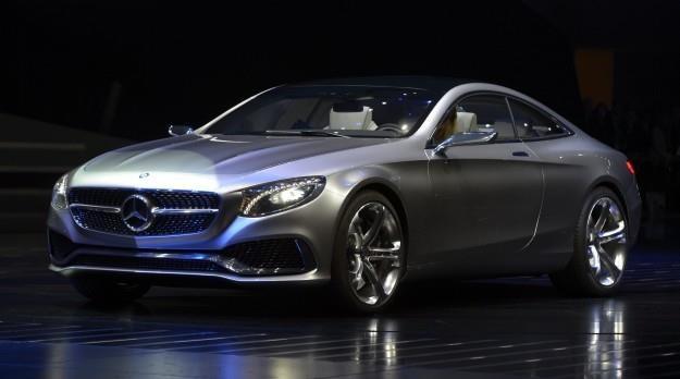 Mercedes klasy S Coupe /AFP