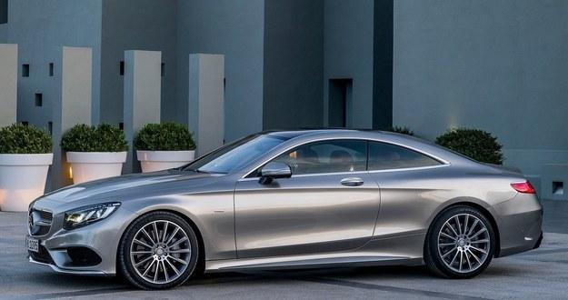 Mercedes klasy S coupe /Mercedes