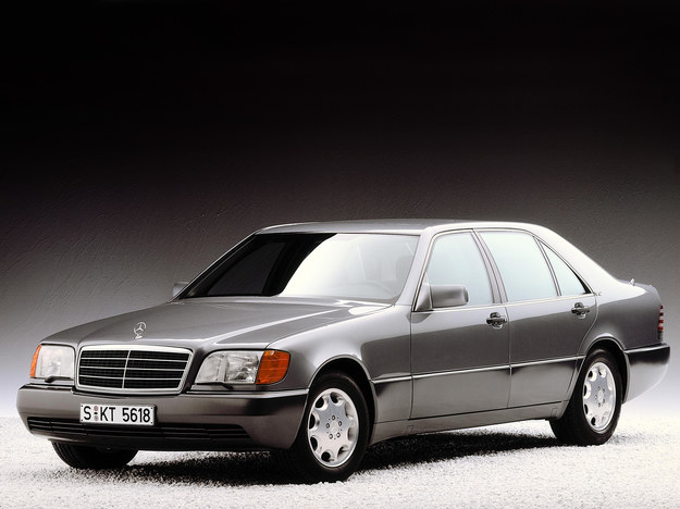 Mercedes klasy S W140 (1991-1998) /Mercedes