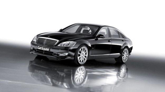 Mercedes klasy S (W221) po tuningu Carlssona. /Mercedes