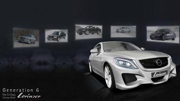 Mercedes klasy S (W222) po tuningu firmy Lorinser /Lorinser