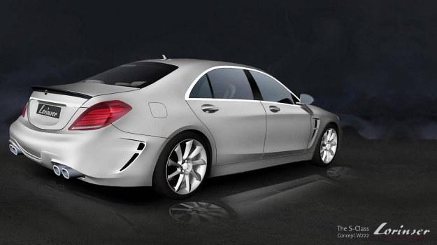 Mercedes klasy S (W222) po tuningu firmy Lorinser /Mercedes