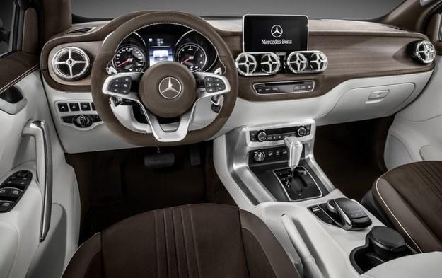 Mercedes klasy X /Mercedes