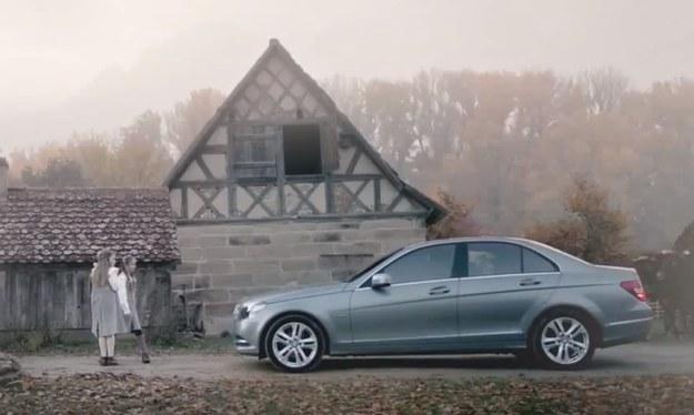 Mercedes, który wykrywa zagrożenia /