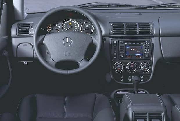 "Mercedes M-Class ""Inspiration"" (kliknij) /INTERIA.PL"