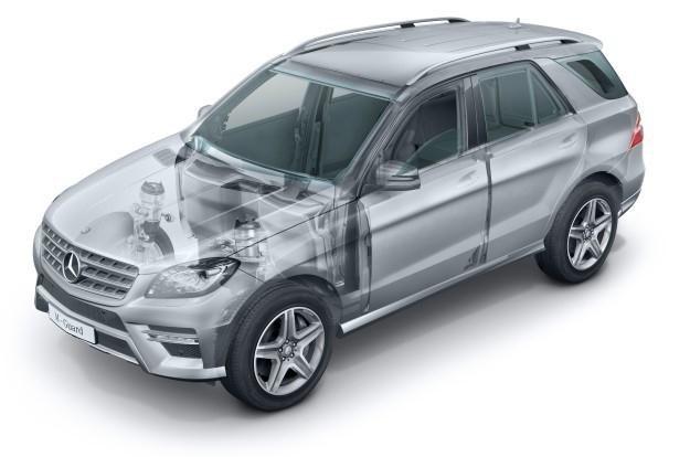 Mercedes M-Guard /