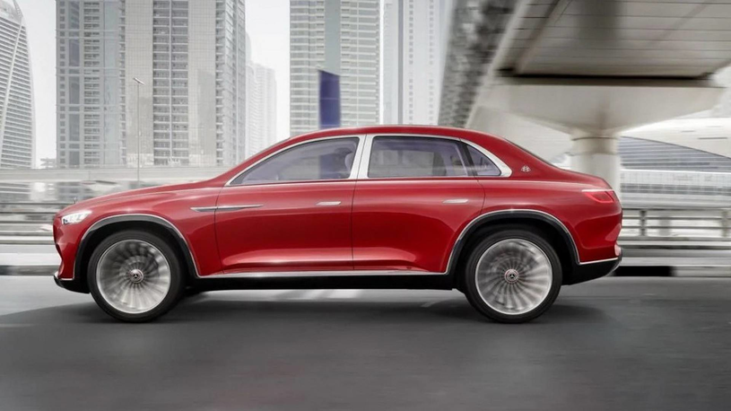 Mercedes-Maybach Ultimate Luxury SUV /