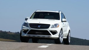 Mercedes ML po tuningu Hofele Design