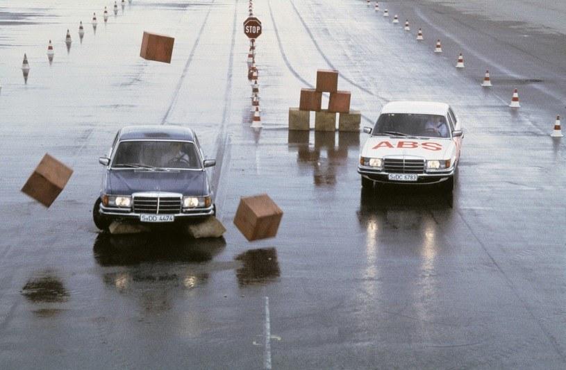 Mercedes oferował system ABS juz w 1978 roku /