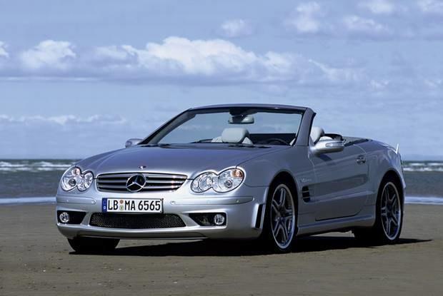 Mercedes SL AMG / Kliknij /INTERIA.PL