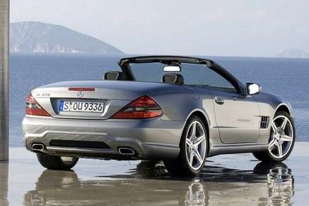 Mercedes SL / Kliknij /INTERIA.PL